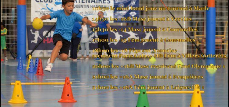 Programme du week-end des 19 et 20 novembre 2016