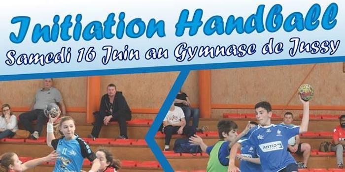 Initiation Handball le samedi 16 juin à Jussy