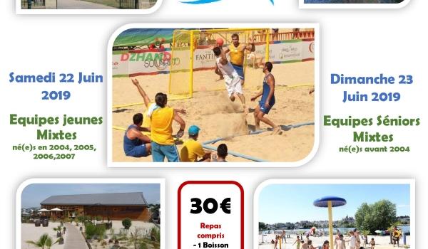 Beach Handball les 22 et 23 juin 2019