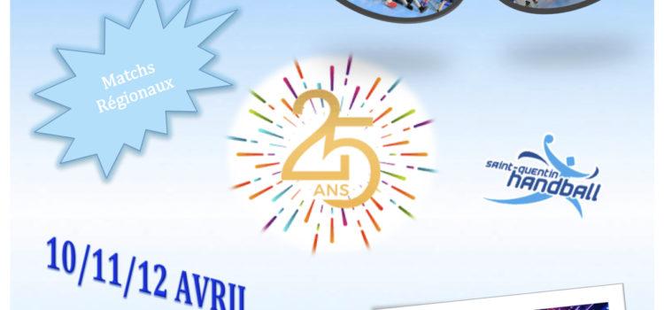 25 ans du club ! Réservez votre week-end des 10, 11 et 12 avril 2020 !